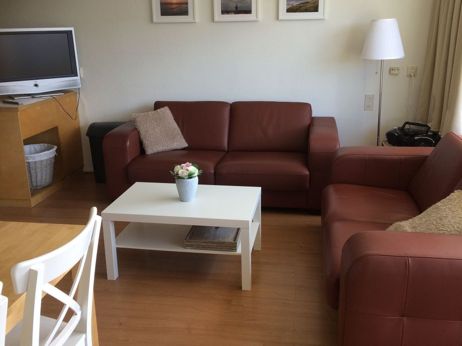Wohnzimmer mit Sitzecke