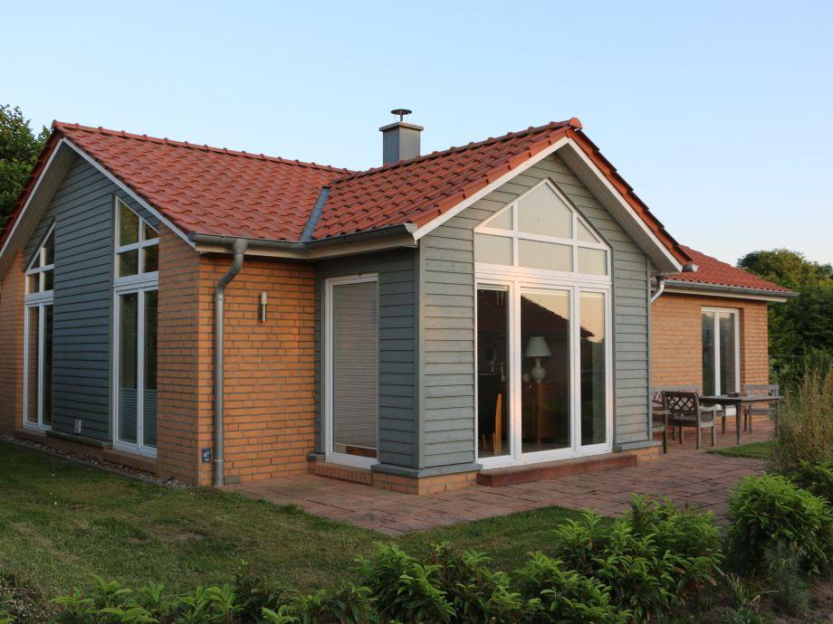 Außenansicht Ferienhaus Marina Hülsen - Das Nordlichterhaus