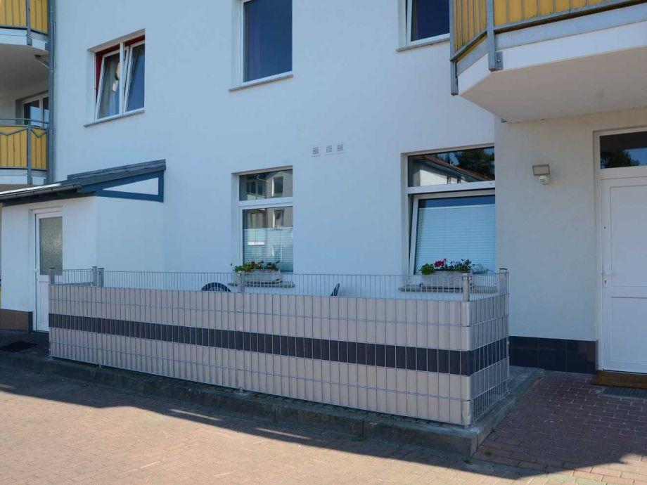 Außenaufnahme Ferienhaus Strand18 strandnah Karlshagen