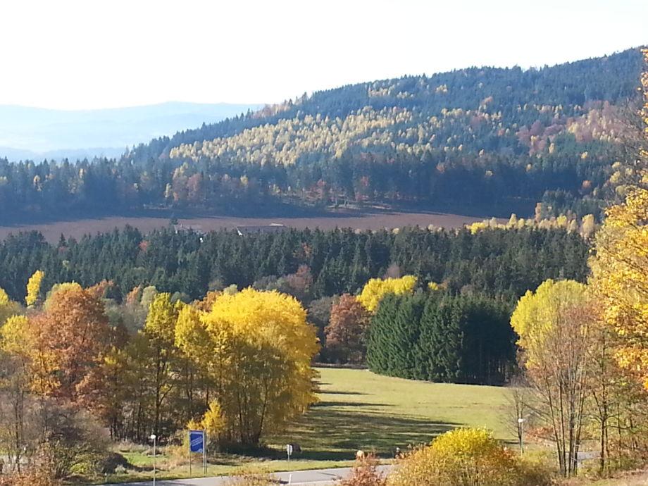 Aussicht im Herbst