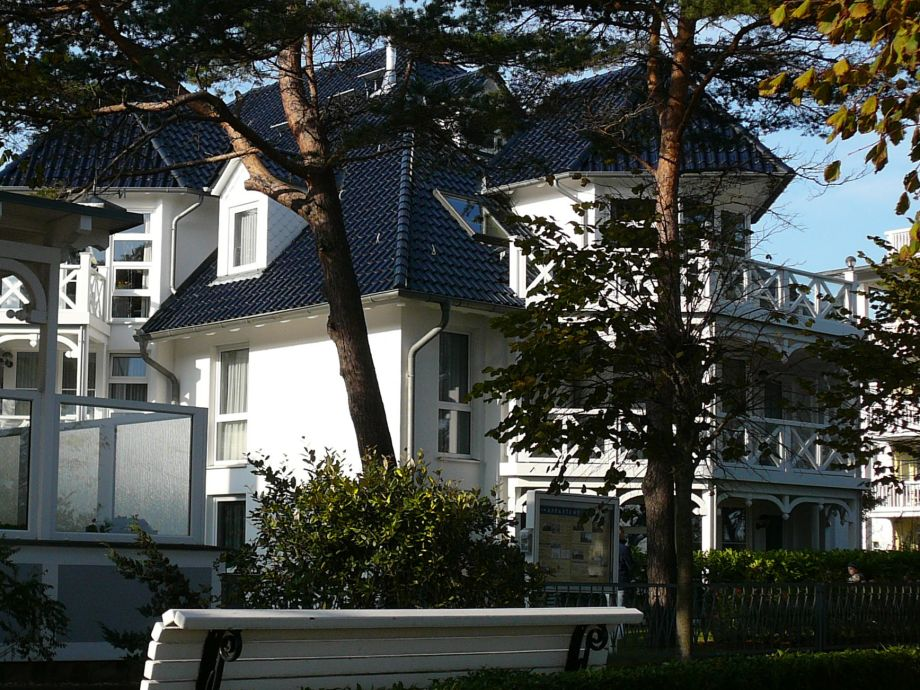 """Das """"Haus Strelasund"""" - Vorderansicht"""