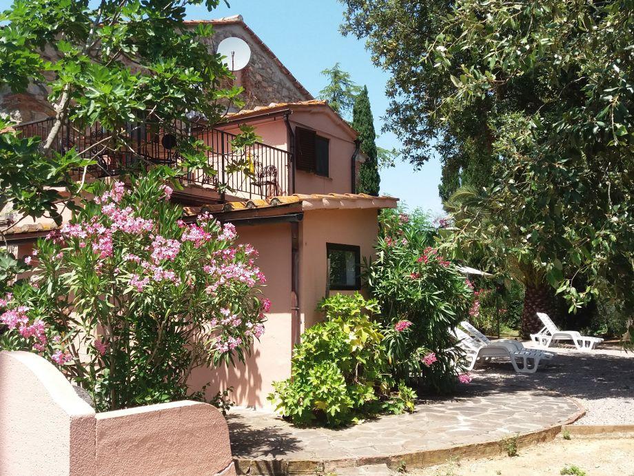 La Fornace Rückseite Terrassen