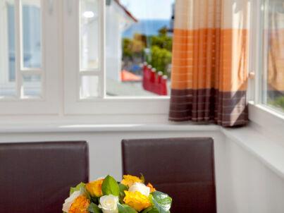 """Seerose in der """"Villa Meeresgold"""""""