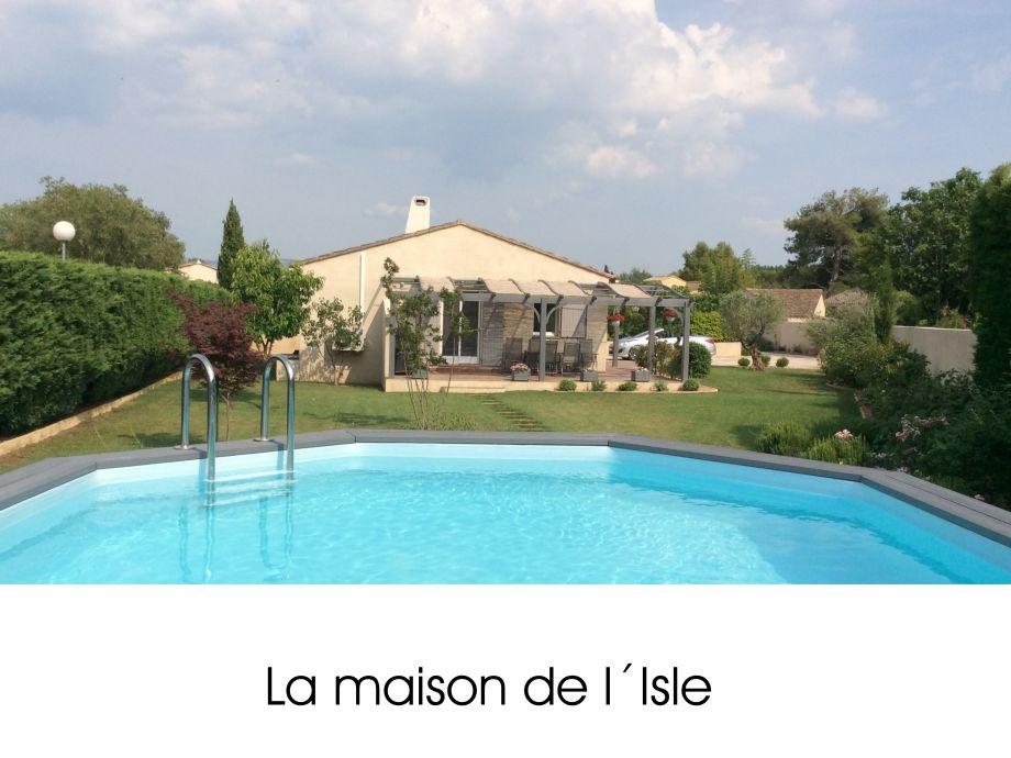 Außenaufnahme La maison de L´Isle