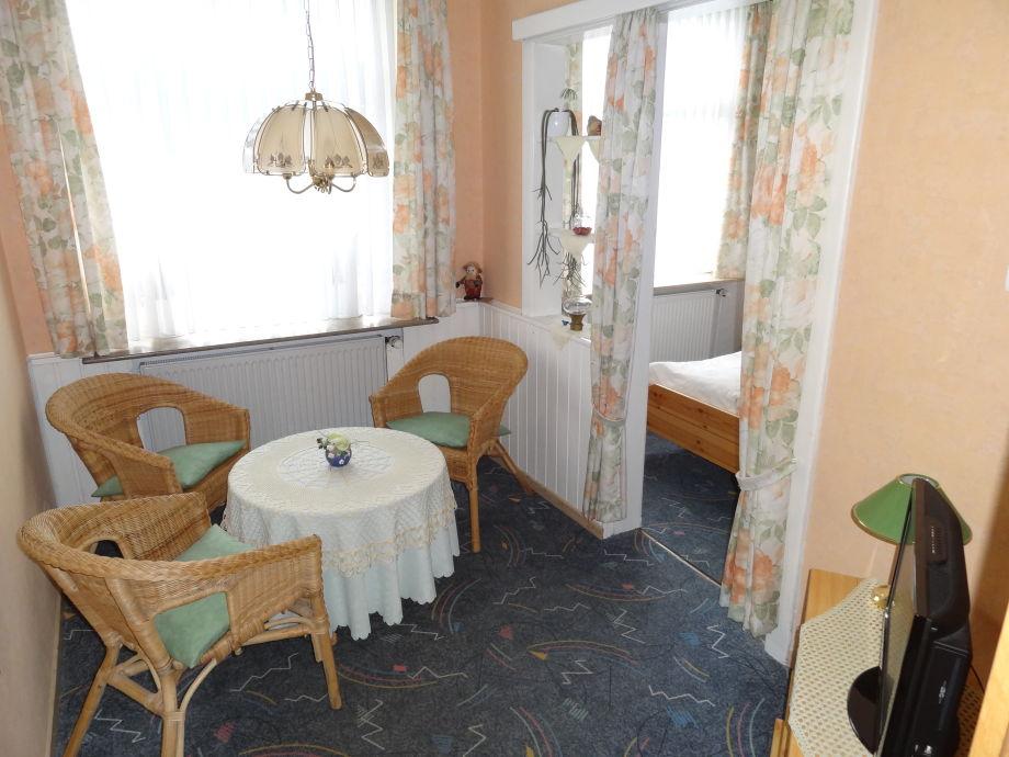 Apartement mit Sitzecke