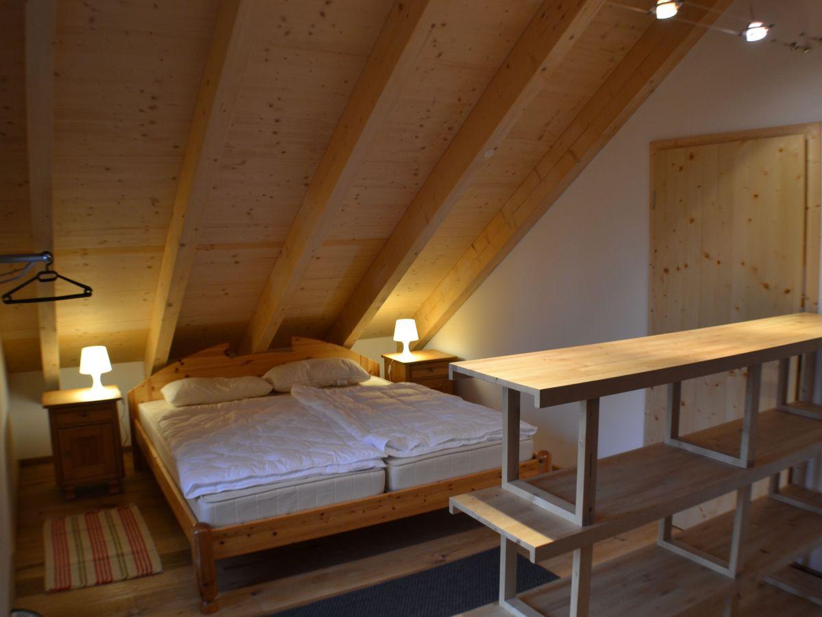 schon schlafzimmer unterm dach - ferienhaus nissehus telemark aust agder s dnorwegen