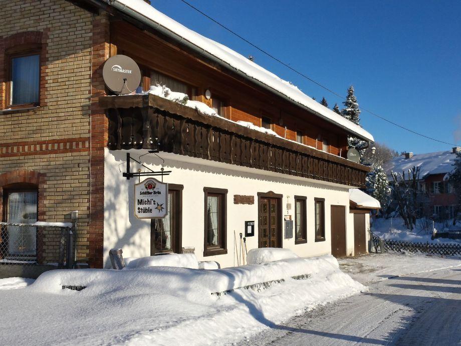 Haus Illertal im Winter