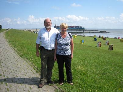 Ihr Gastgeber Dieter und Brunhild Schaper