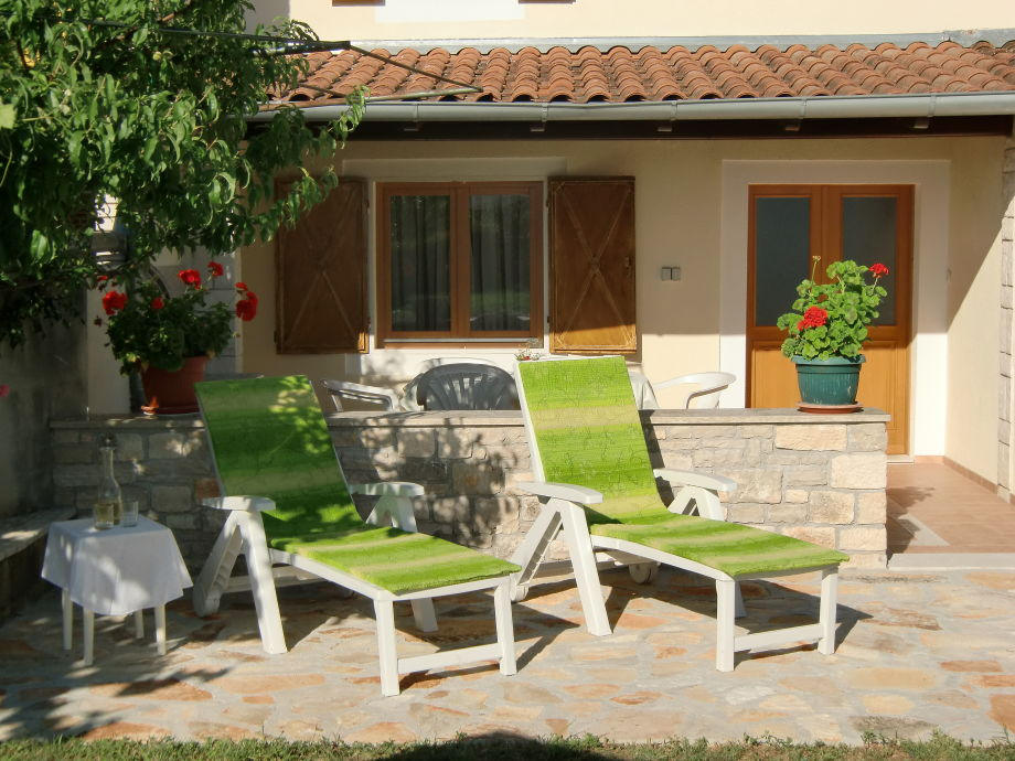 Terrasse Haus IDA