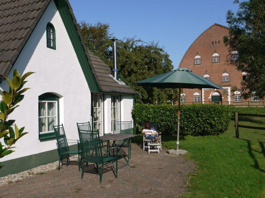 Außenaufnahme Gartenhaus Marienthal