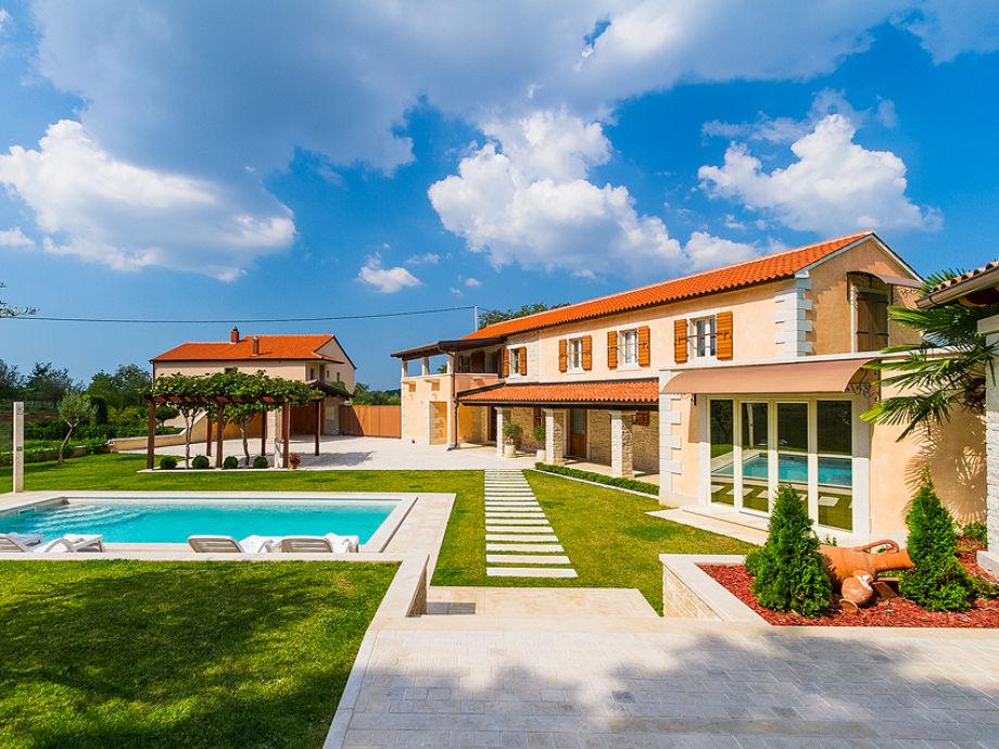 Außenaufnahme Villa Viscum