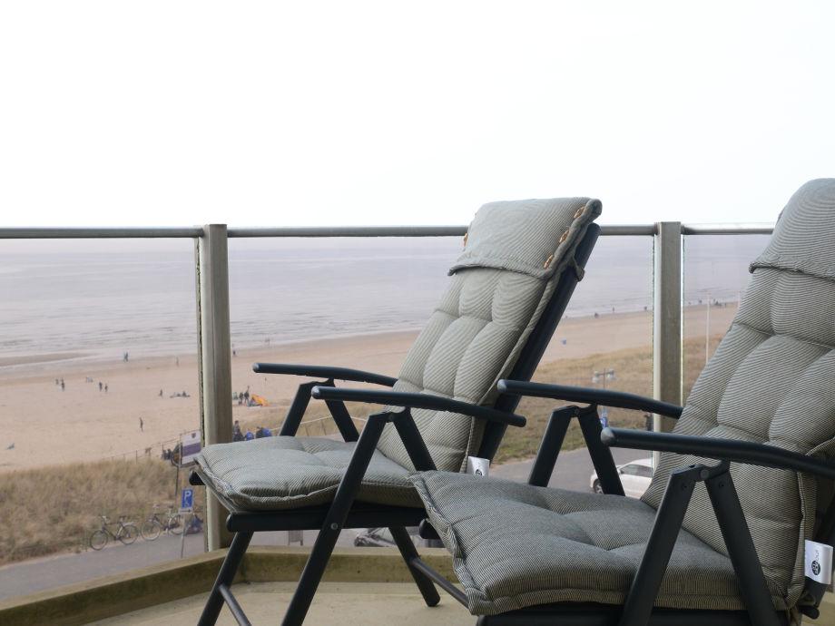 Meeresblick von Balkon