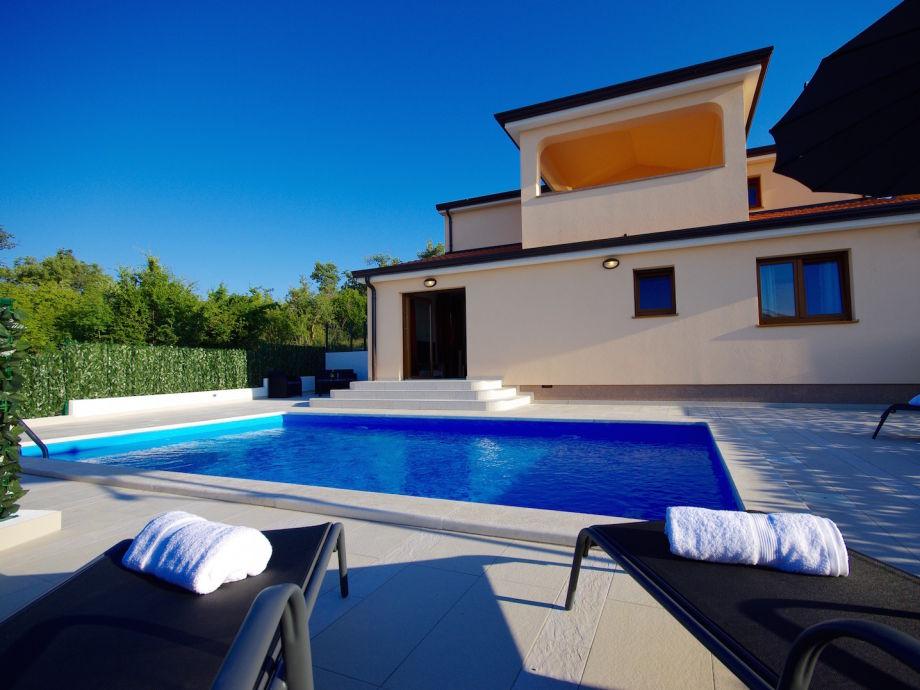 Außenaufnahme Villa Nina