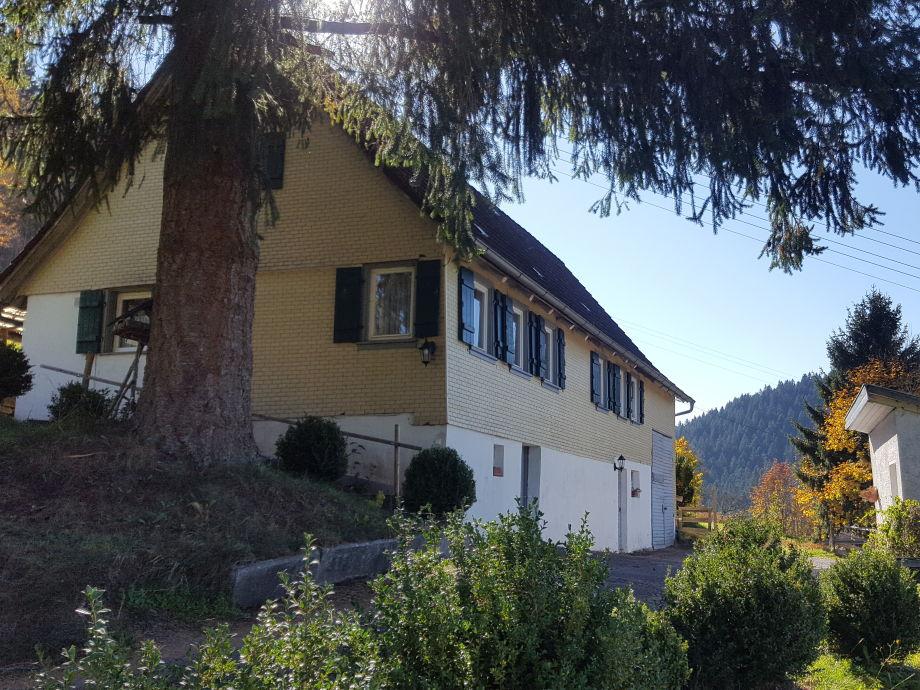 Außenaufnahme Seewald- Ferienhaus