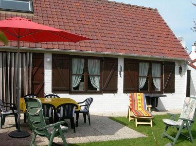 Fischerhaus in Bredene, 5 km von De Haan.