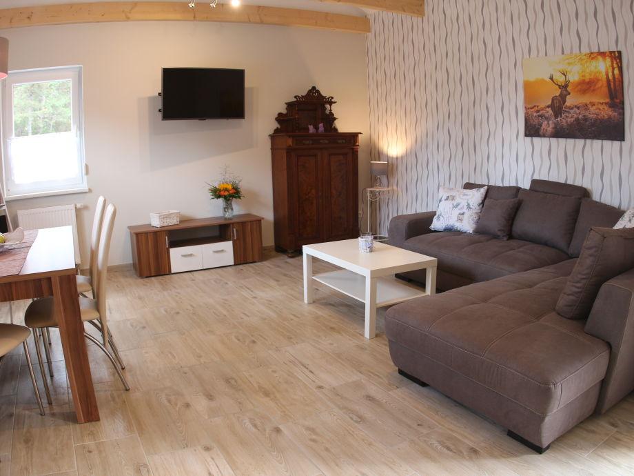 Wohnzimmer mit Smart- TV
