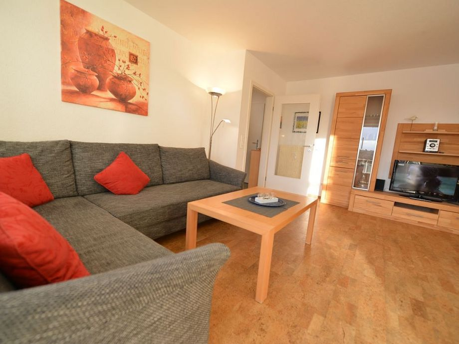 Wohnzimmer mit Schlasofa - Lattenroste