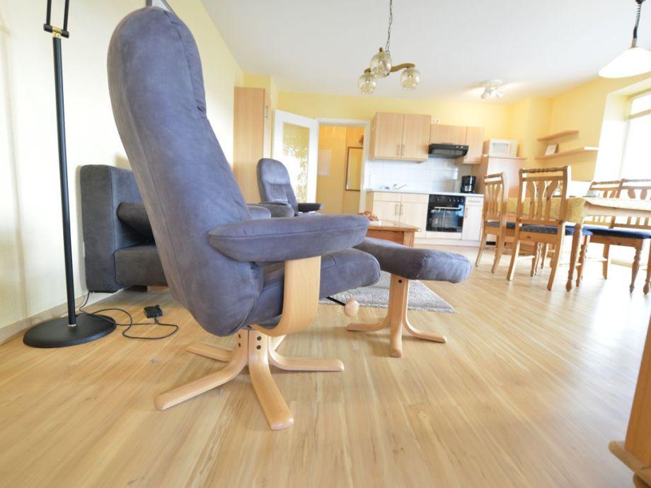 Wohnzimmer mit Seesicht
