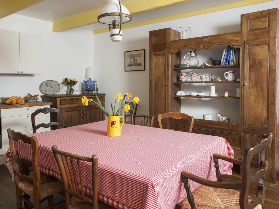 Die Küche, gemütlich und bestens ausgestattet