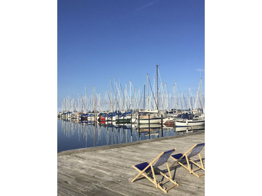 Yachthafen, Ostsee, Binnensee - 2 Min.! : ))