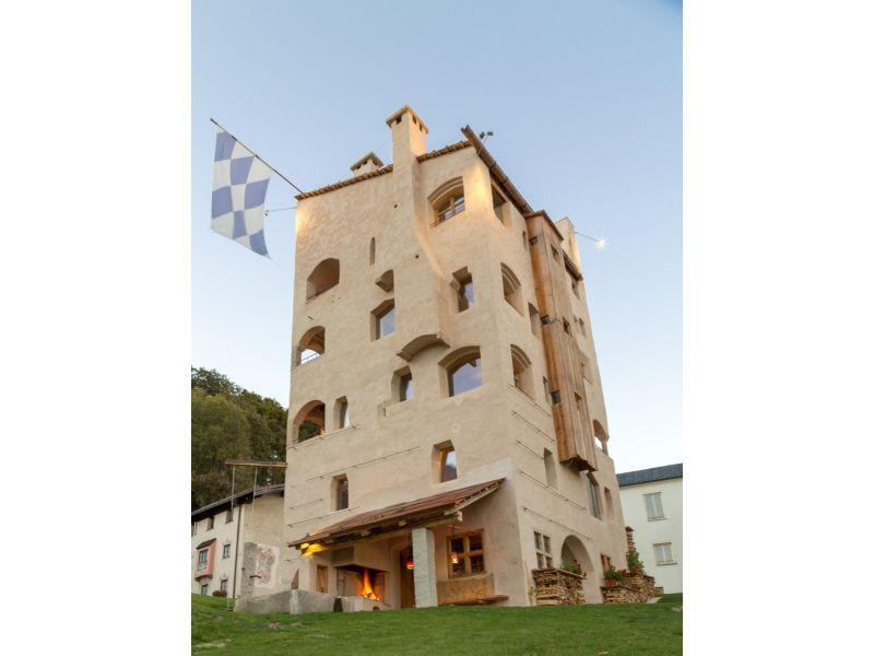 """Ferienwohnung """"Grafenstubn"""" im Turm zu Schloss Schedling"""