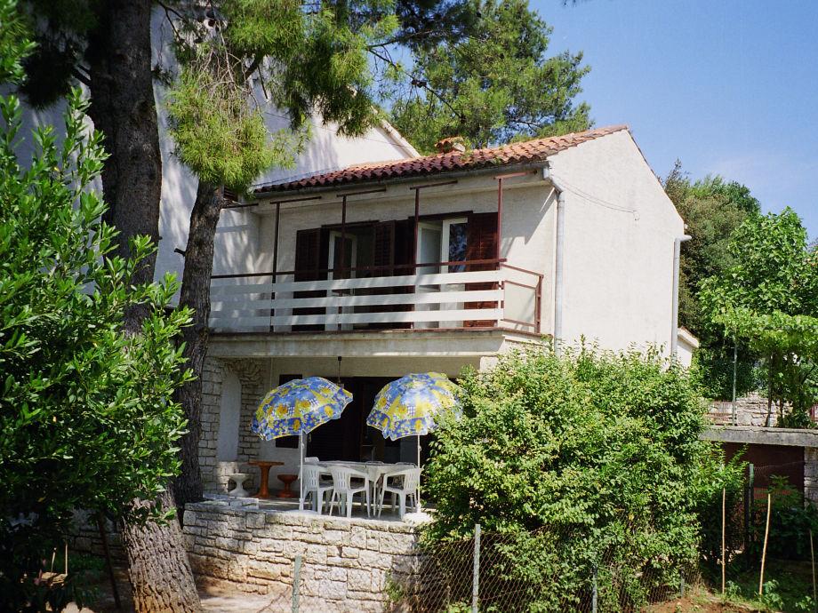 Die Südseite des Hauses