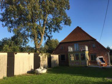 Ferienhaus Alte Bauernhaushälfte mit Wasserblick