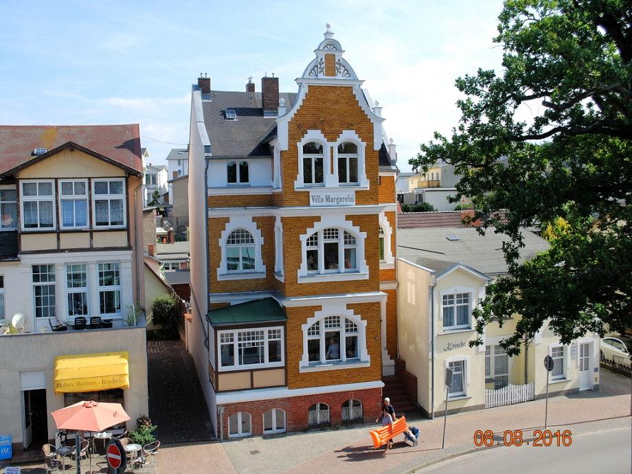 Blick vom gegenüberliegenden Haus