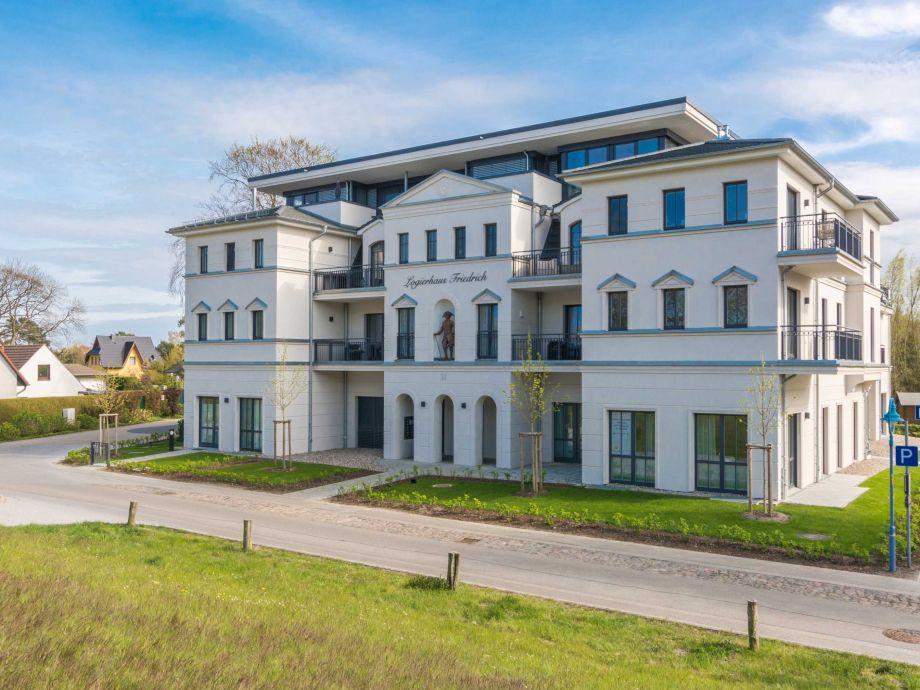 Aussenansicht Logierhaus Friedrich