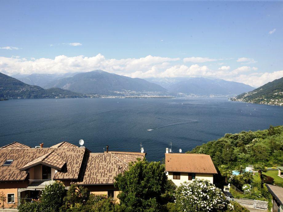 ... einzigartiger See-, Insel- und Alpensicht
