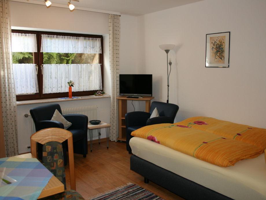 Ausstattung 1-Zimmer-Apartment Haus Evelyn