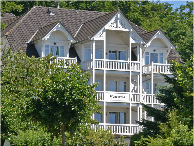 Ferienwohnung 2-Zimmer Nr. 1 Parkresidenz Concordia