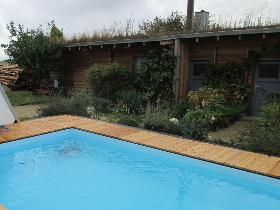 Unser neuer Swimmingpool