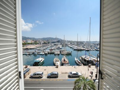 Cannes Appartement  avec vue sur le port