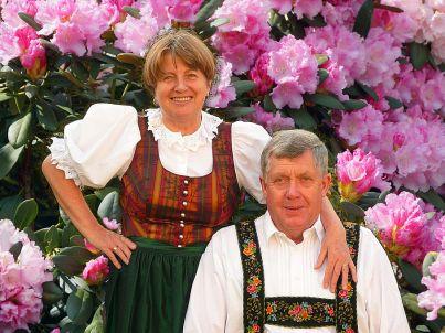 Ihr Gastgeber Ottmar und Carola Eisgruber