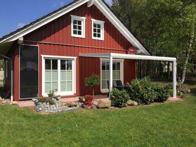 Schwedenhaus in  der Elbtalaue