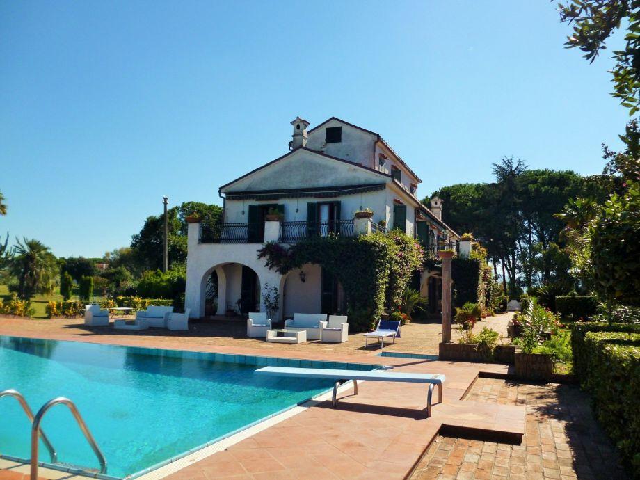 Außenaufnahme Villa Matilde