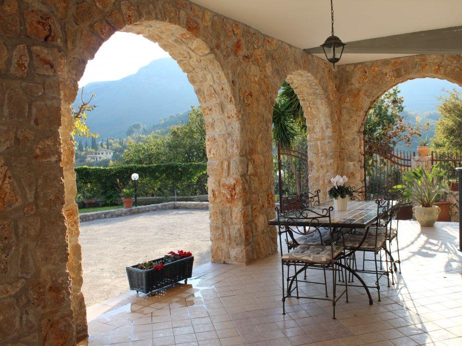 Außenaufnahme Villa Cività
