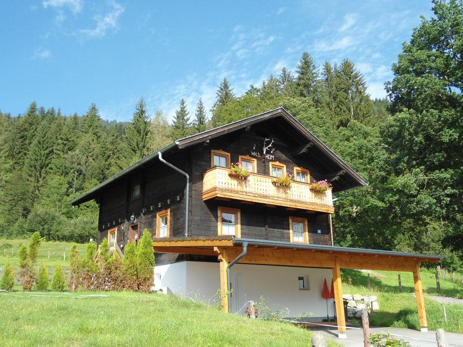 Das Ferienhaus Waldheim im Sommer