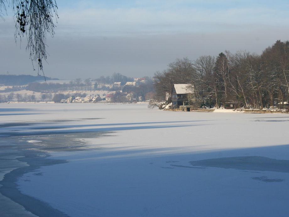 Winterzeit am Möhnesee