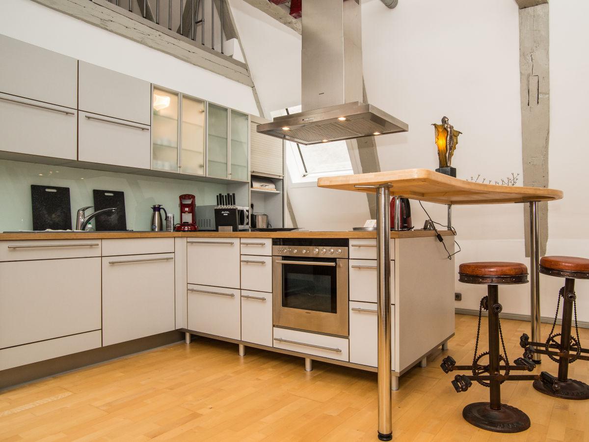 ferienwohnung atelier im altstadthaus ostsee l beck. Black Bedroom Furniture Sets. Home Design Ideas