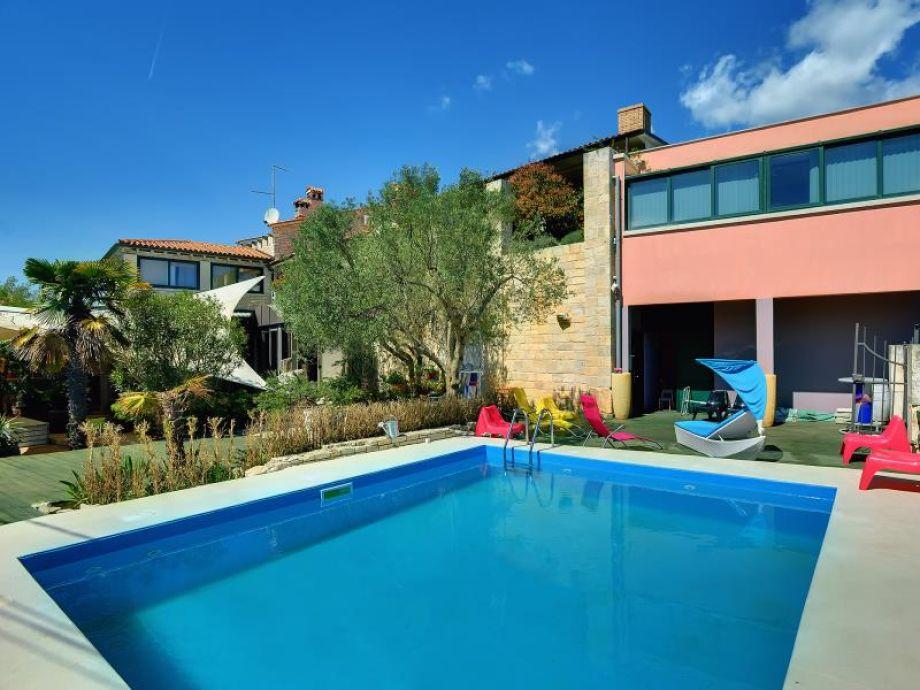 Villa mit Üool