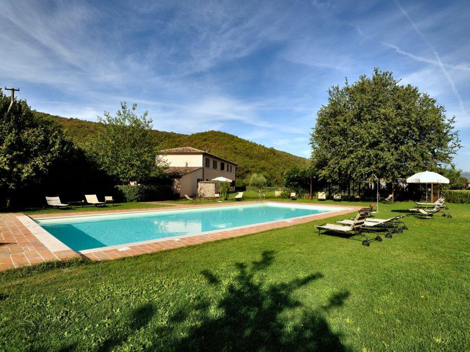 Außenaufnahme Il Corniolo Country House Uva