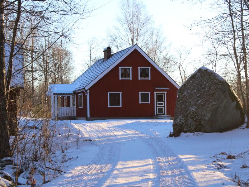 Ferienhaus Hjortnabben am See