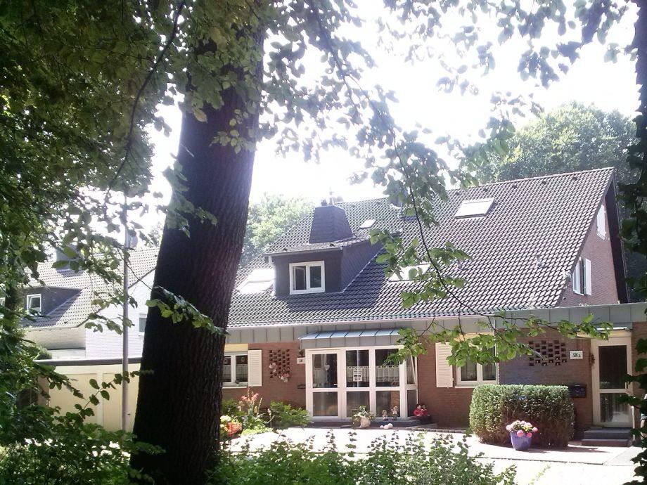 unser Haus von außen