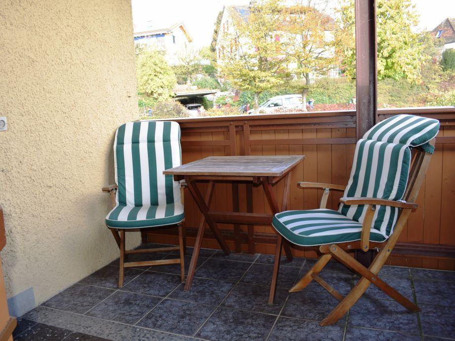 Weitere Sitzmöglichkeit mit Blick auf den Bodensee