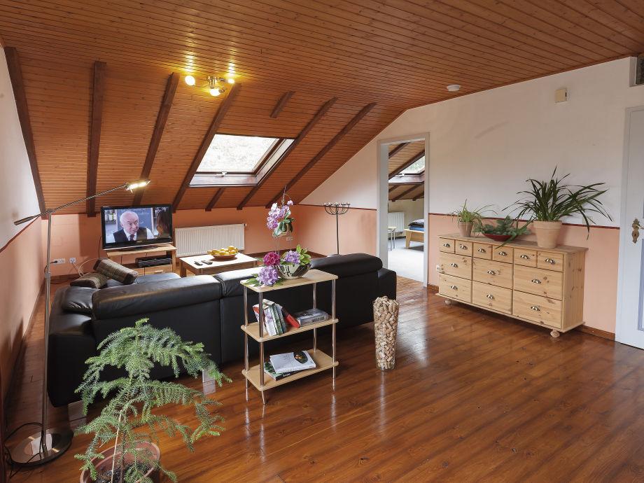 Wohnzimmer , mit Blick auf Masterbedroom