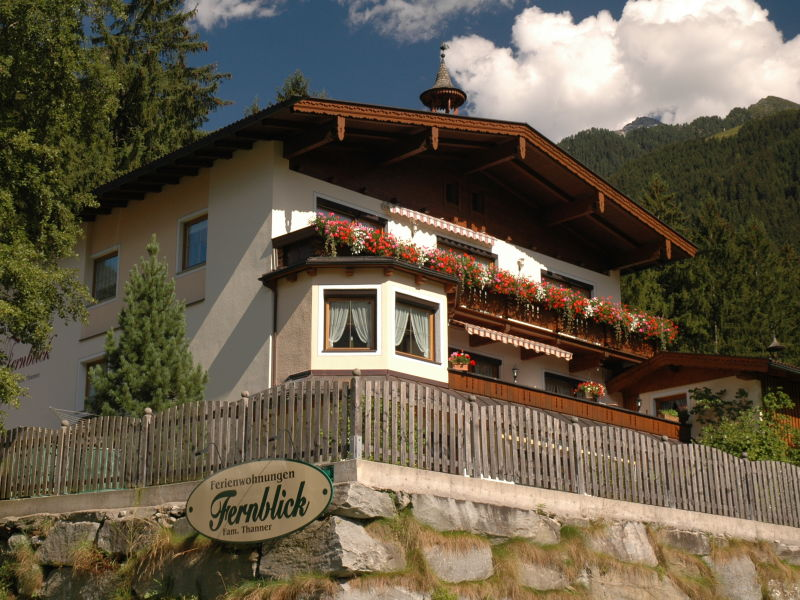 Holiday apartment Scheuling in Haus Fernblick