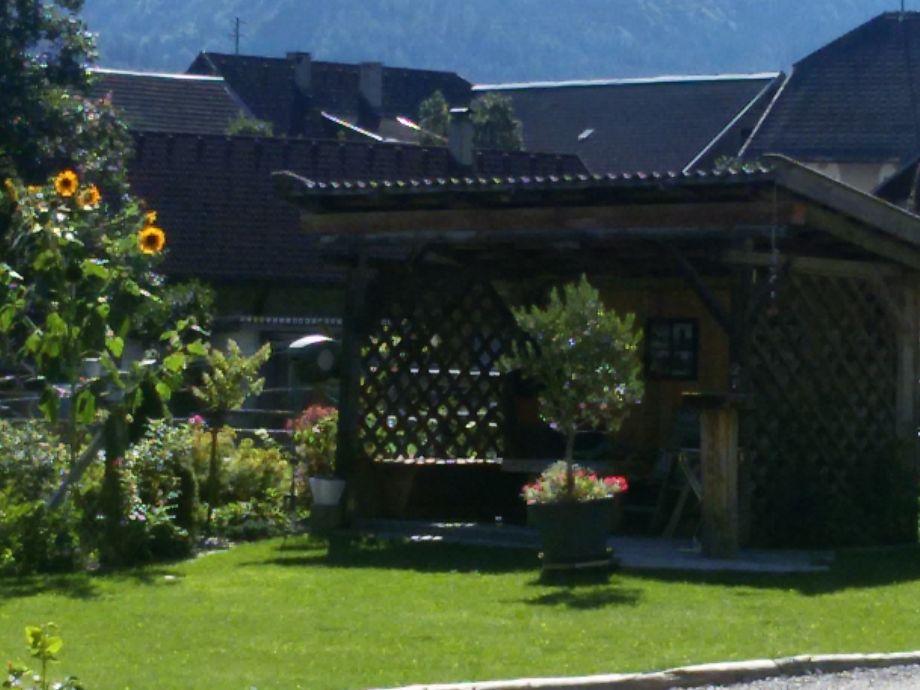 Garten mit Lounge