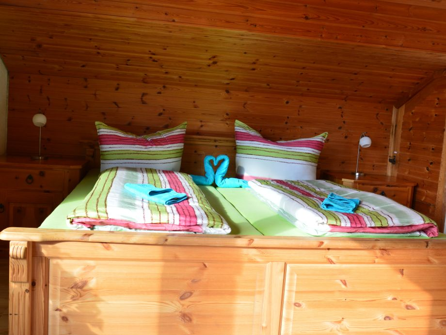Das urige und gemütliche Schlafzimmer mit Panoramablick